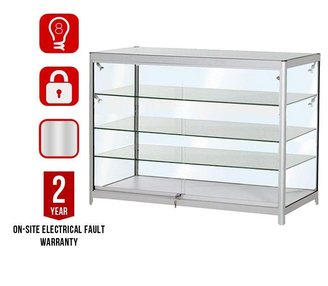 Superbe DC3 500 Jewellery Display Cabinet 3 Shelves