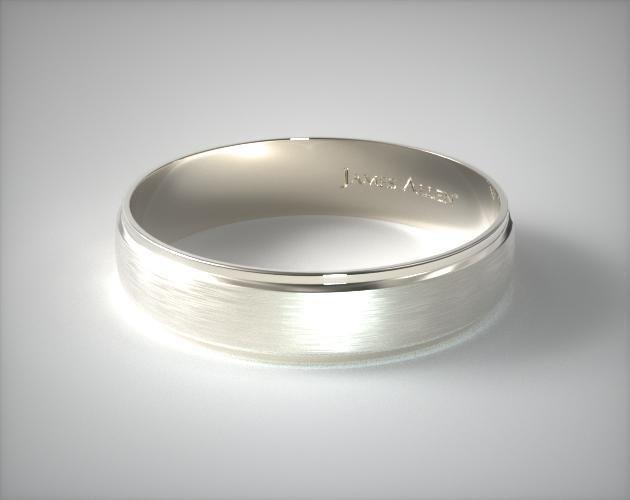 Platinum 6mm Grooved Comfort Fit Wedding Band In 2020 Mens Gold Wedding Band Mens Wedding Bands White Gold White Gold Wedding Rings