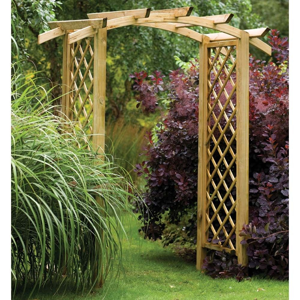 Garden Arbor Ideas garden arbor 21 Cool Garden Archways Covered With Flowers Shelterness Gardening Pinterest Garden Archway And Flowers