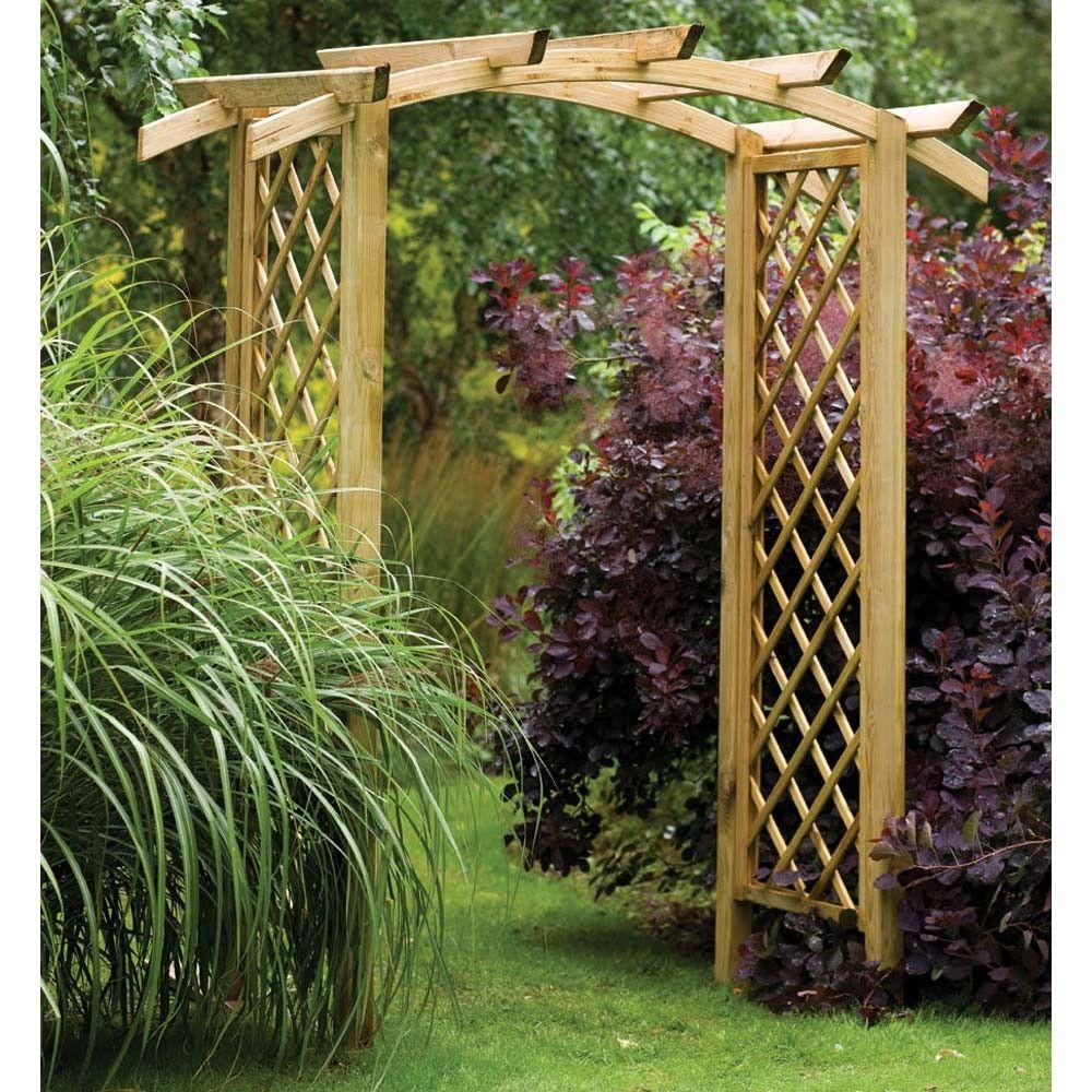 38 Wooden Garden Arch Ideas Garden Arches Garden Archway