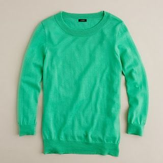 The J. Crew Tippi Sweater - I'll take one in every color please!