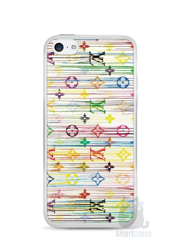 Capa Iphone 5C Louis Vuitton #1 - SmartCases - Acessórios para celulares e tablets :)