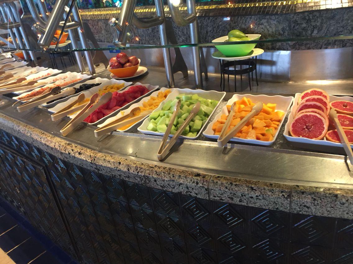 Food Bar @ Tiffany's - Carnival Elation