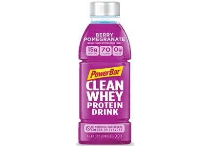 PowerBar clean whey protein drink