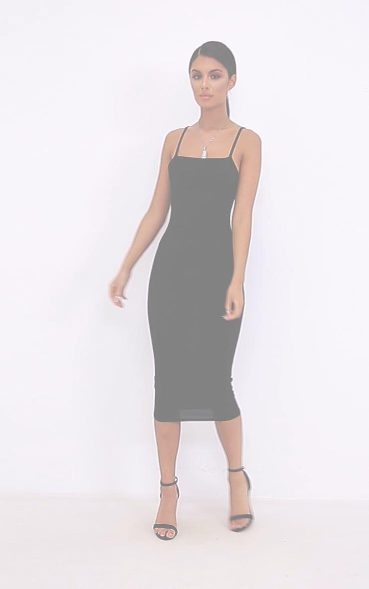 Black Strappy Midi Dress Strappy Midi Dress Midi Dress Freakum Dress [ 1180 x 740 Pixel ]