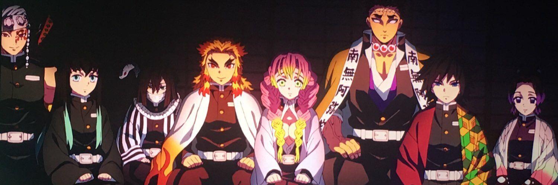 Hashira header | Anime, Manga, Slayer