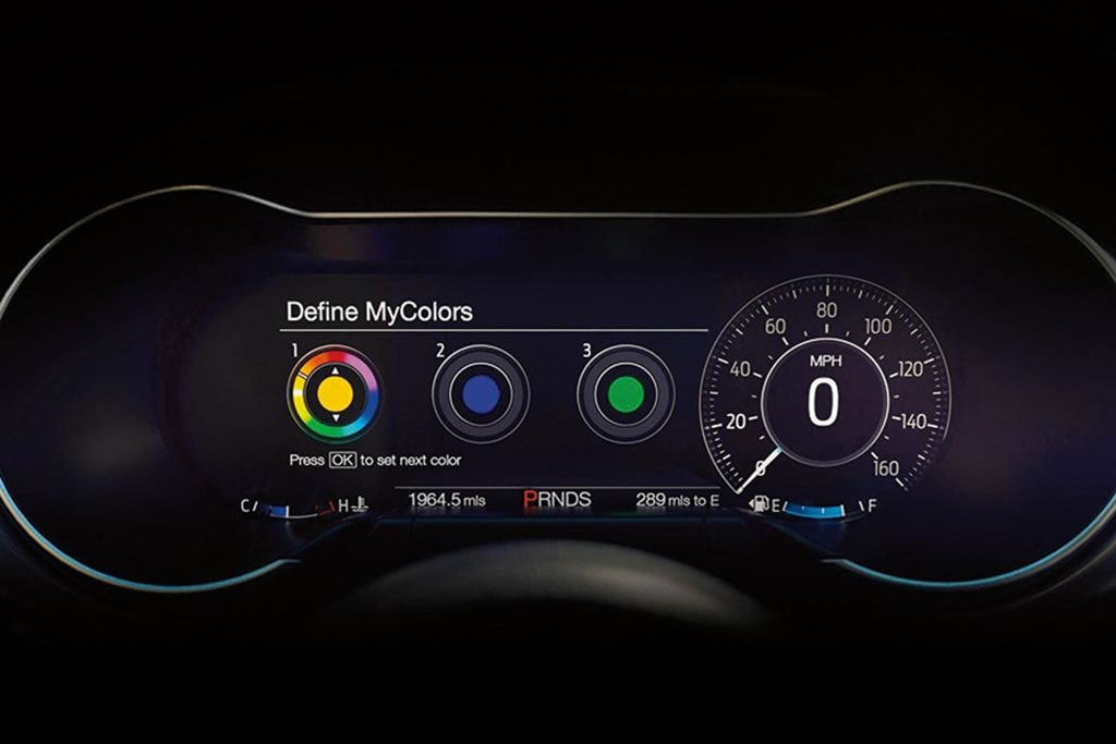 2018 Ford Mustang Digital Dash Done Right