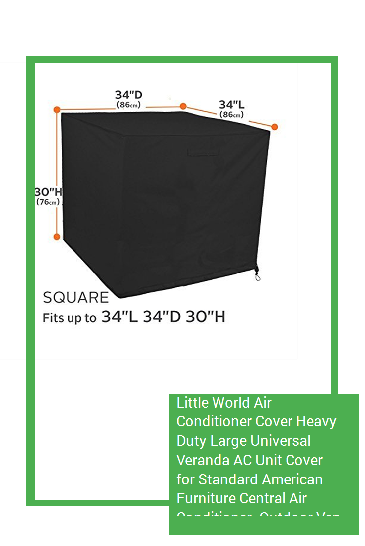 Little World Air Conditioner Cover Heavy Duty Large