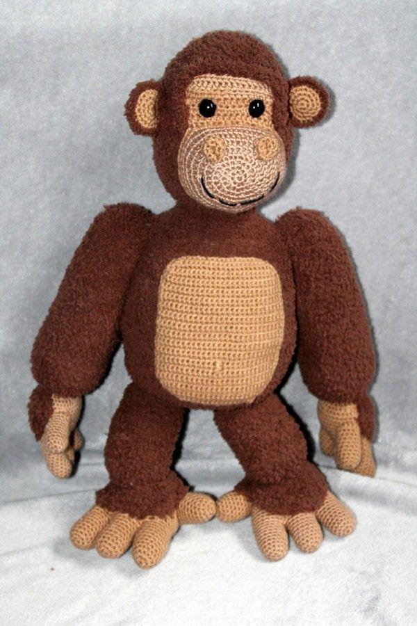 Gogo Ist Ein Super Kuscheliger Und Weicher Gorilla Der Ein Tolles