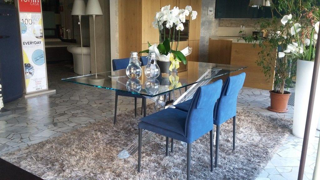Sedie Riflessi ~ Sedia mavi riflessi tavoli da pranzo
