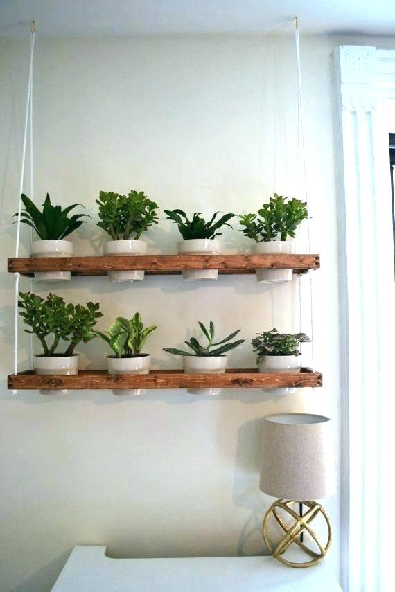 Hanging Plant Holder Architecture Indoor Awesome Pots Info