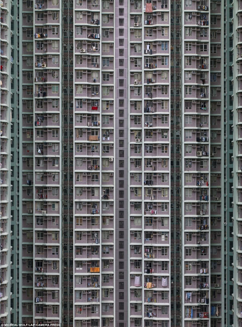 Can You Believe These Are Actually Apartments The Stunning Images - Photographer captures madness real estate hong kong