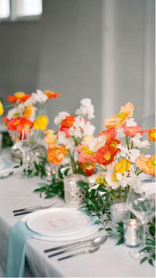 Hochzeit Blumen Trend Orange Island Poppies Brautblume Wedding