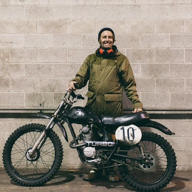 Jared from @holiday_cycles is one of the Pacific North West riders featured in Sideburn 17. Shot by Kris Regentin. Sideburn in the PNW for #dqusa, 1 June! #Padgram