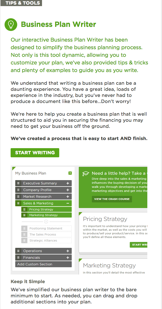 A Canadian Online Business Plan Writer That Provides Tips  Tools  A Canadian Online Business Plan Writer That Provides Tips  Tools To  Assist You In