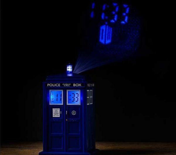 Time Machine Alarm Clocks Doctor Who