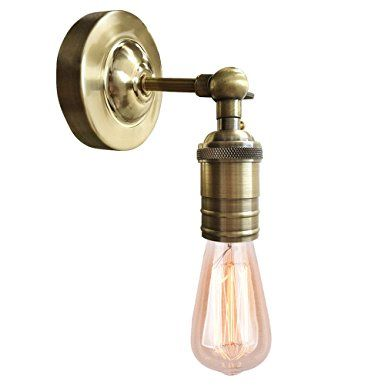 Charmant Splink Vintage Wall Sconce With ON/Off Switch, Industrial Retro Metal Wall  Lamp Antique Wall Light Fixtures E26 Socket, (Bulbs Not Included)