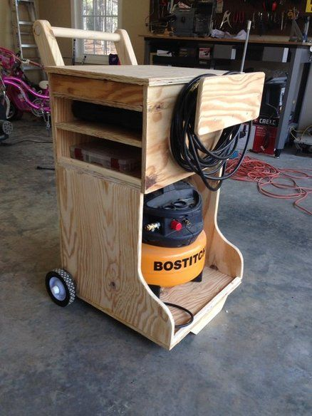 Air Compressor Caddy Even If Not This One Gets Me