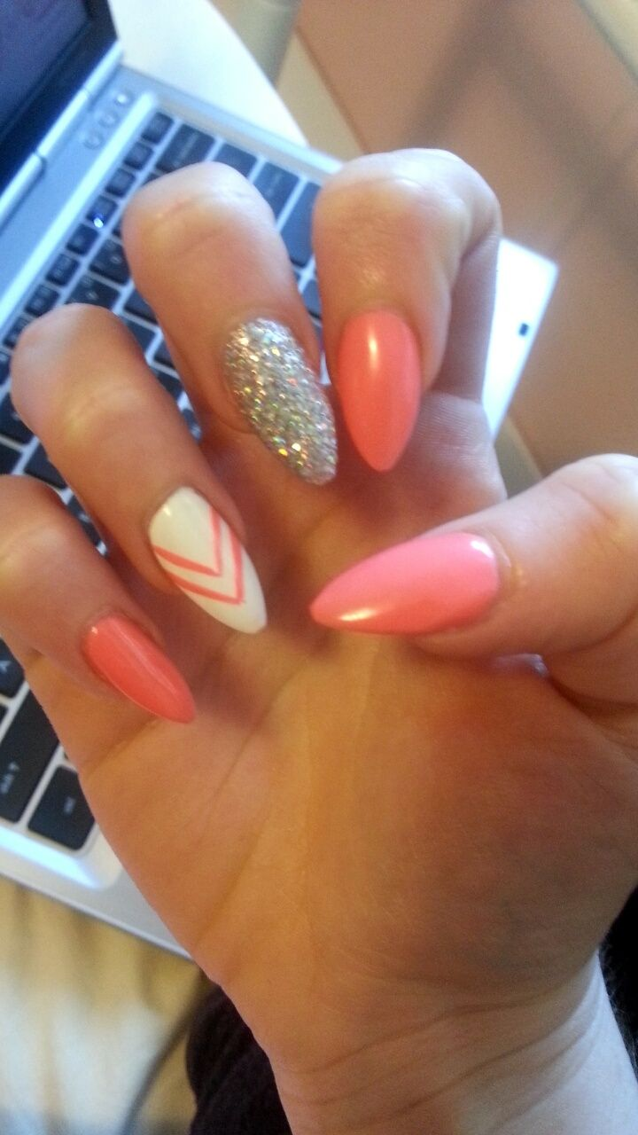 My Almond nails