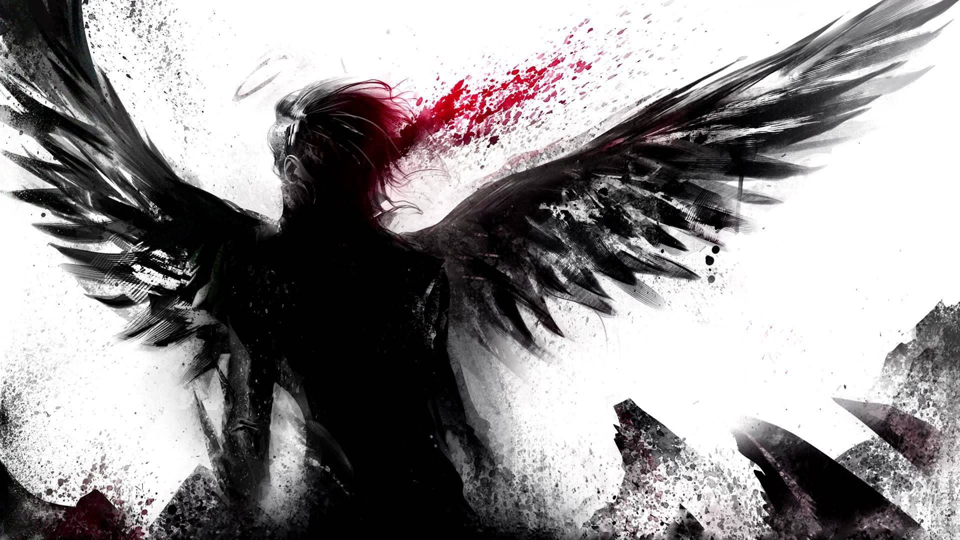 1920x1080 Free Wallpaper And Screensavers For Celldweller Angel Wallpaper Anime Fallen Angel Angel Drawing