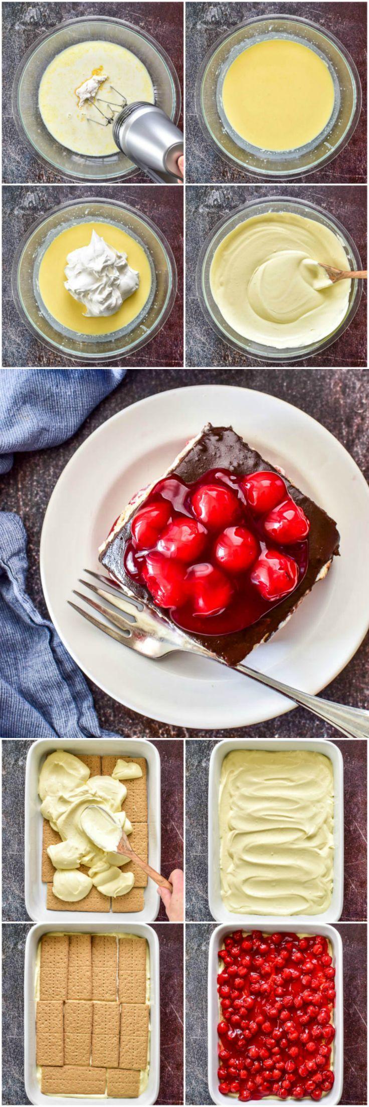 Eclair cake favorite dessert recipes dessert recipes