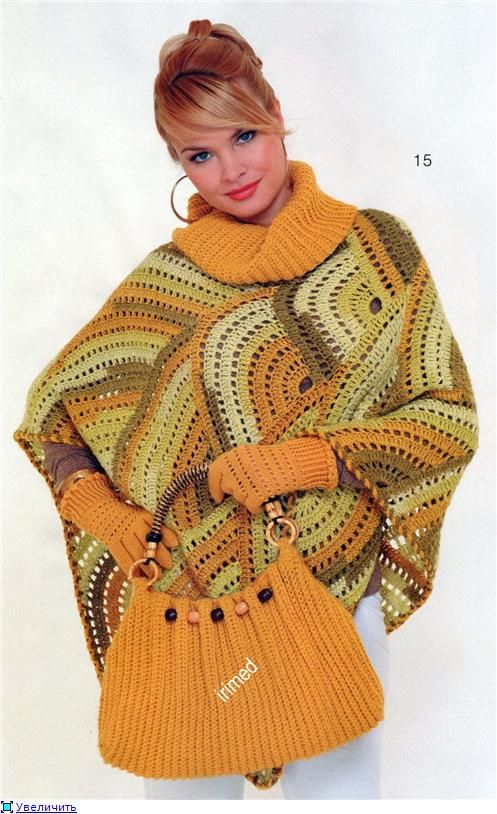 Knitting Simple Poncho Pattern Diagram Block And Schematic Diagrams