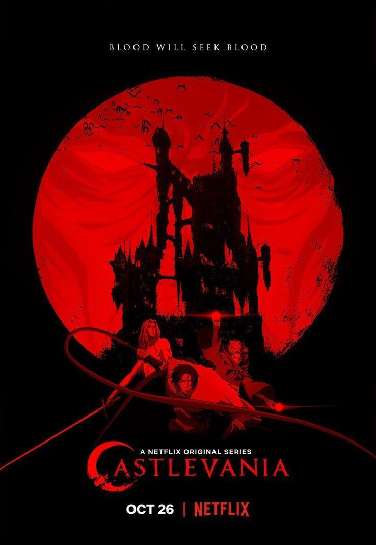 Castlevania Tv Series 2017 Imdb >> Series Castlevania Ii La Sangre Buscara Sangre Netflix Lanza