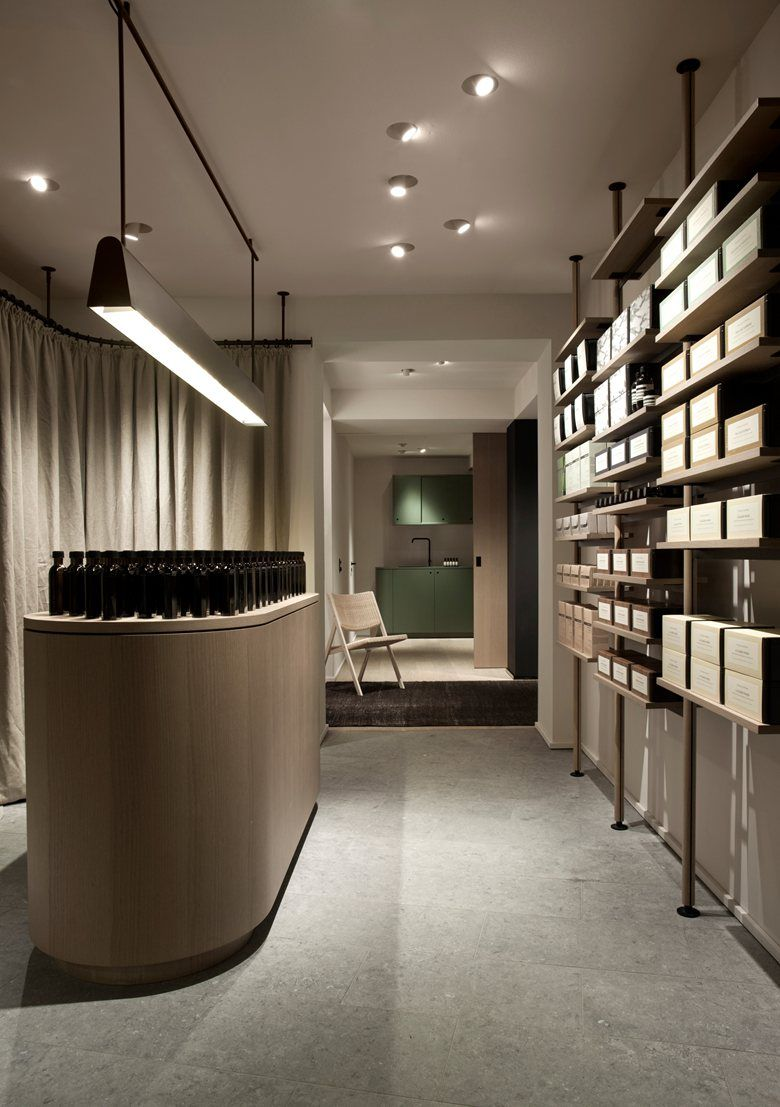 Aesop s new flagship store in hamburg was created in - Commercial van interiors locations ...