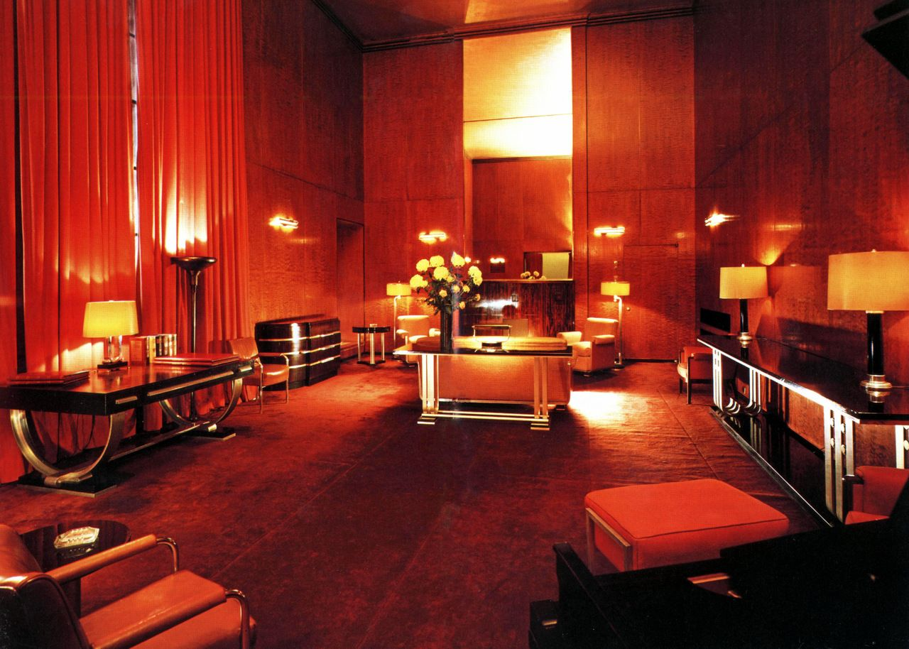 new york apartment for the manager of radio city music hall