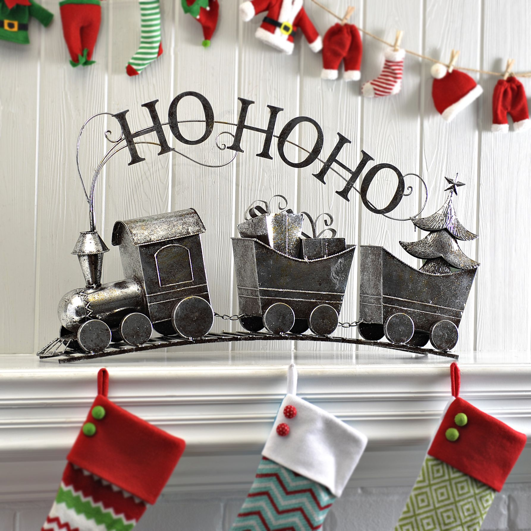 Ho Christmas Train.Product Details Ho Ho Ho Train Stocking Christmas Train