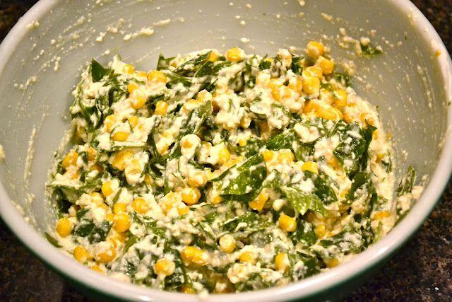 Hell if I Gnaw: Corn Salad Sandwich