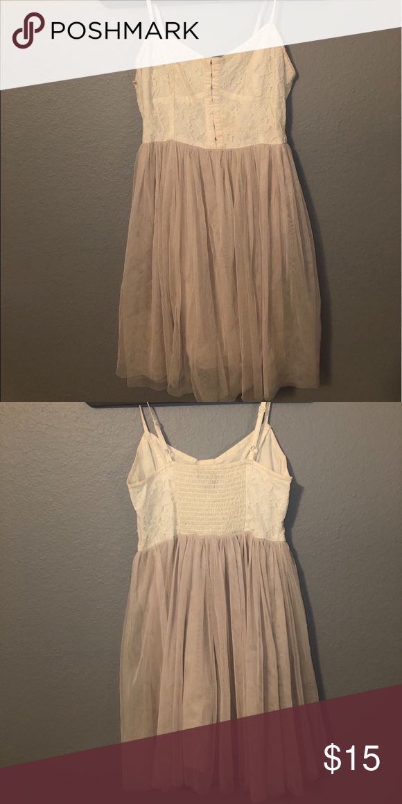 a539c3dabe I just added this listing on Poshmark: American Eagle Lace & Tulle Dress.  #shopmycloset #poshmark #fashion #shopping #style #forsale #American Eagle  ...