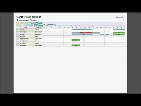 Introduction into GanttProject 25 An open source project - open source spreadsheet