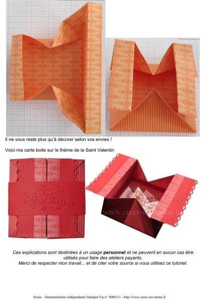 boite cadeau en origami tuto origami origami boite et. Black Bedroom Furniture Sets. Home Design Ideas
