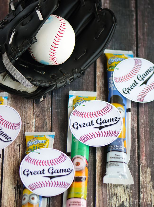 Photo of Printable Post Game Snack Tags for Youth Sports