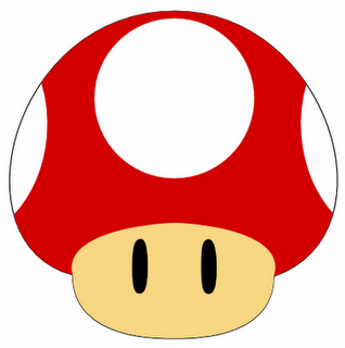 Freebie Mario Brothers Mushroom Svg Mario Crafts Super