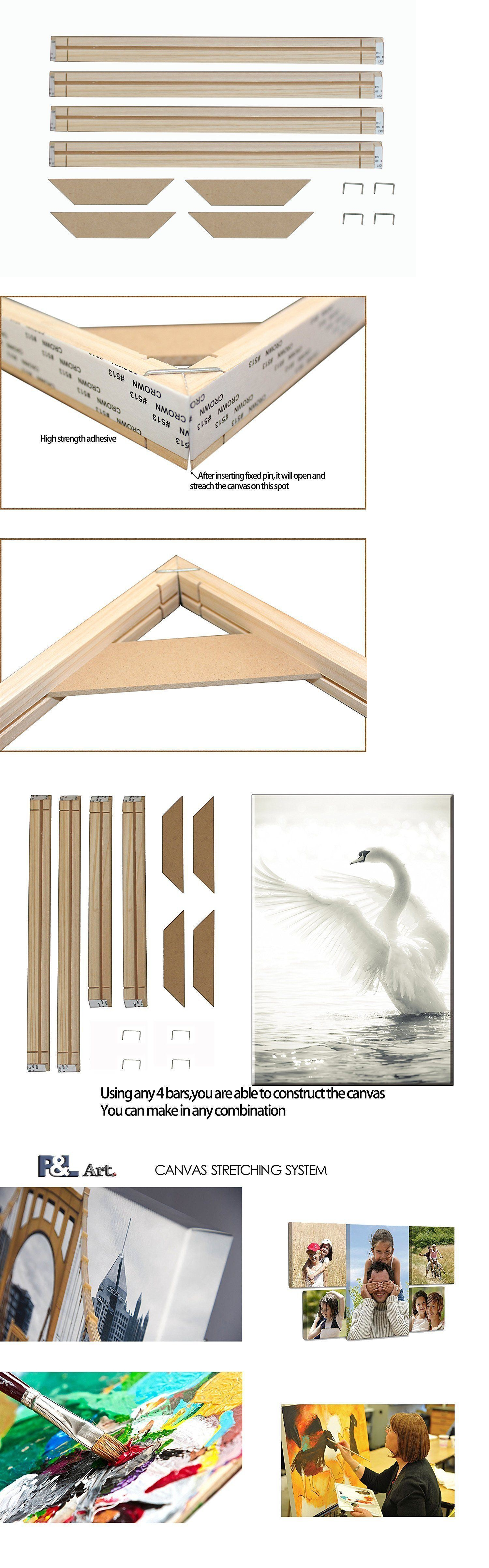 Frames and Supplies 37575: Wood Frame Stretcher Bars Stretching ...