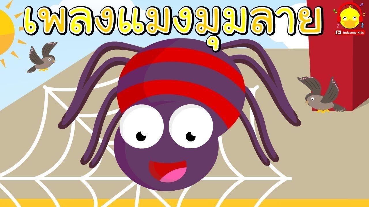 เพลงแมงม มลายต วน น แมงม ม8ขา เพลงเด กน อย Indysong Kids
