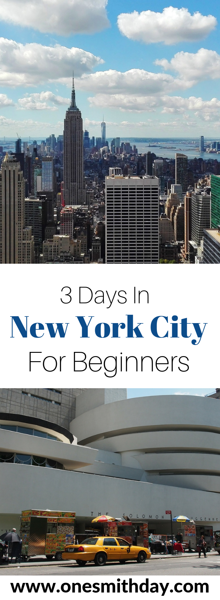 3 Days In New York City – For Beginners