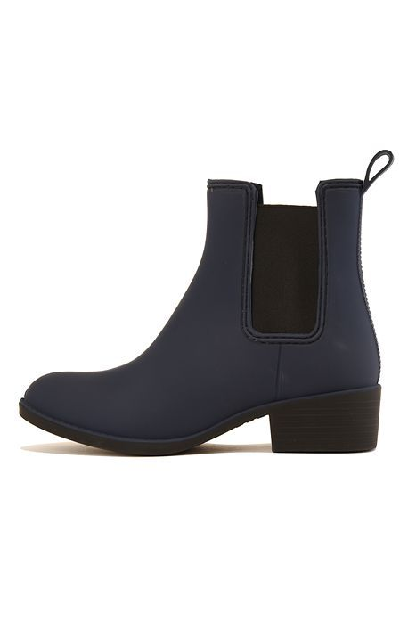 The Stormy Matte Rain Boots in Blue