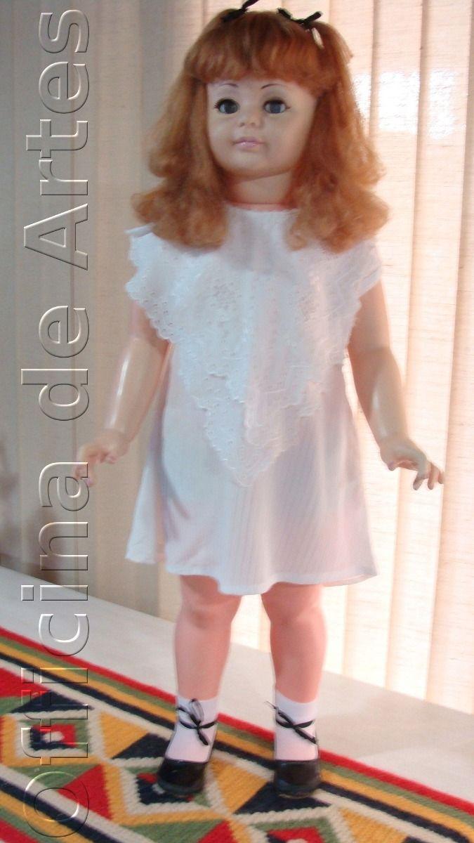 Boneca Antiga Amiguinha Estrela Ruiva 70s - R$ 1.100,00 no MercadoLivre
