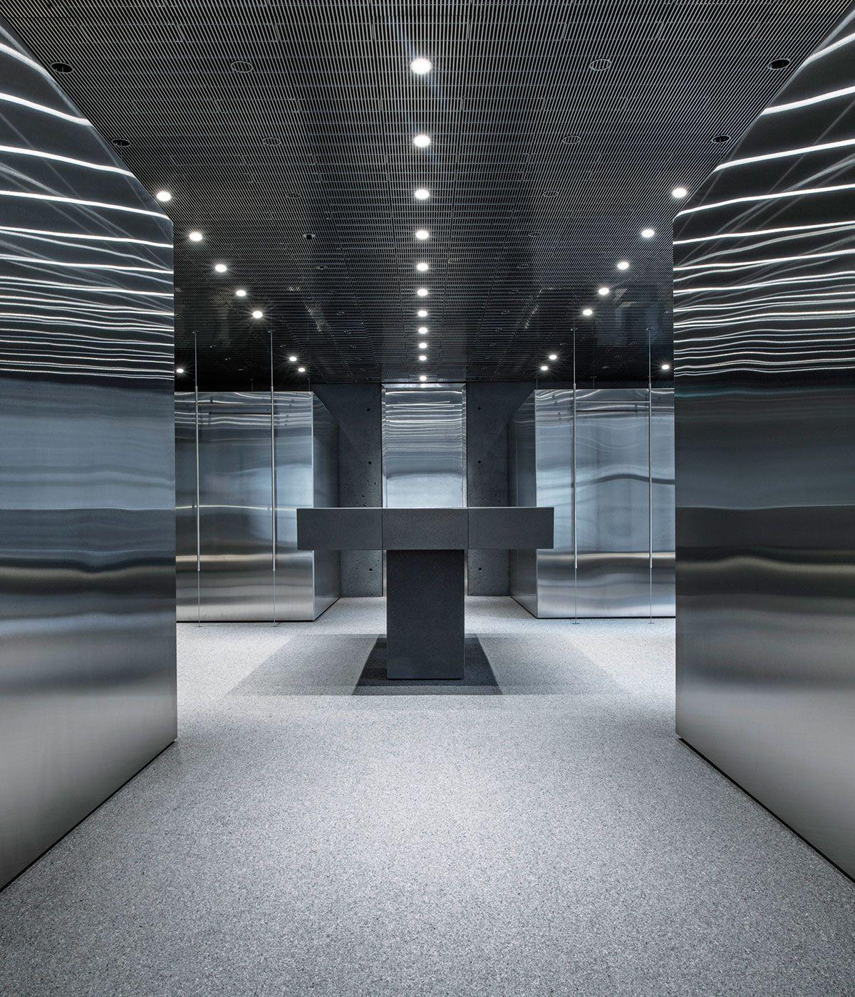 David Chipperfield Designs Ssense S First Flagship Store Boutique Interior Design Minimalist