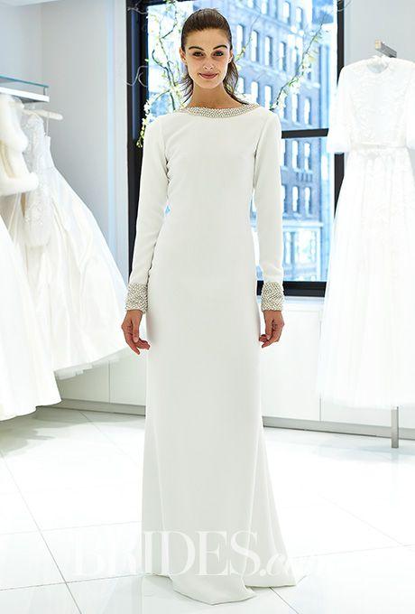 Randi Rahm - Fall 2017. Wedding dress by Randi Rahm