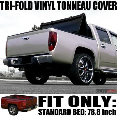 Sponsored Ebay Tri Fold Soft Vinyl Tonneau Cover For 99 07 Silverado Sierra Fleetside 6 5 Bed Tonneau Cover Lincoln Mark Lt Pickup Trucks