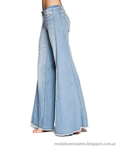 Tucci 2013 Pantalones Oxford Semi Oxford Y Pata De Elefante Pantalones De Moda Pantalones Oxford Pantalones De Vestir Mujer