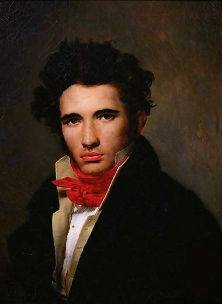 Leon Cogniet Self Portrait 1818 Category Leon Cogniet