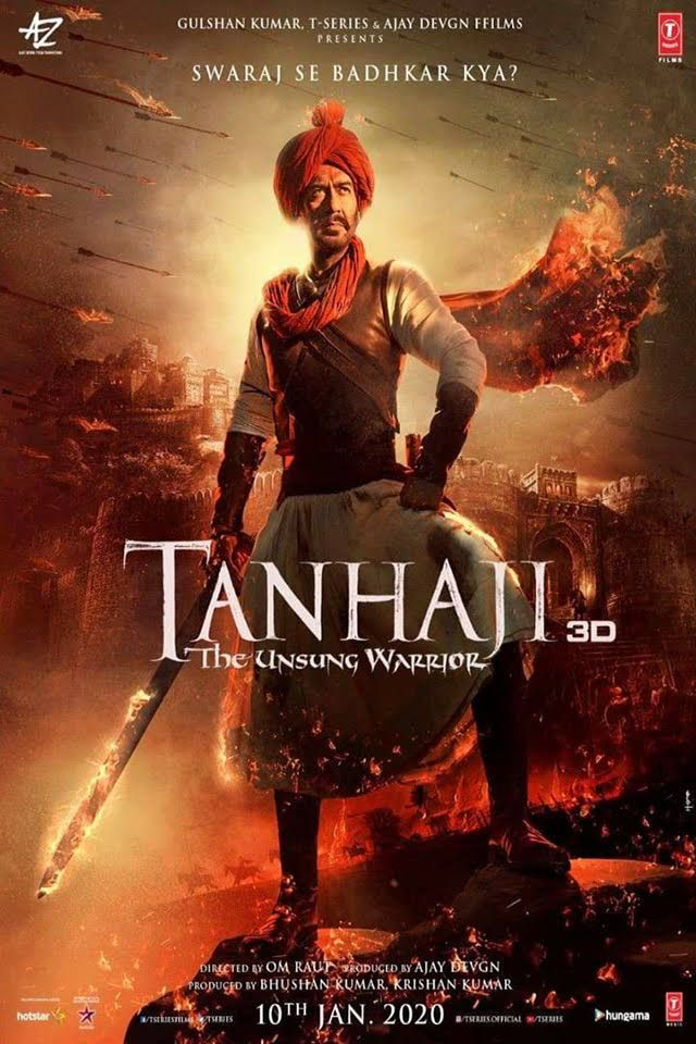 Watch or Download Tanhaji Full Hindi Movie in HD
