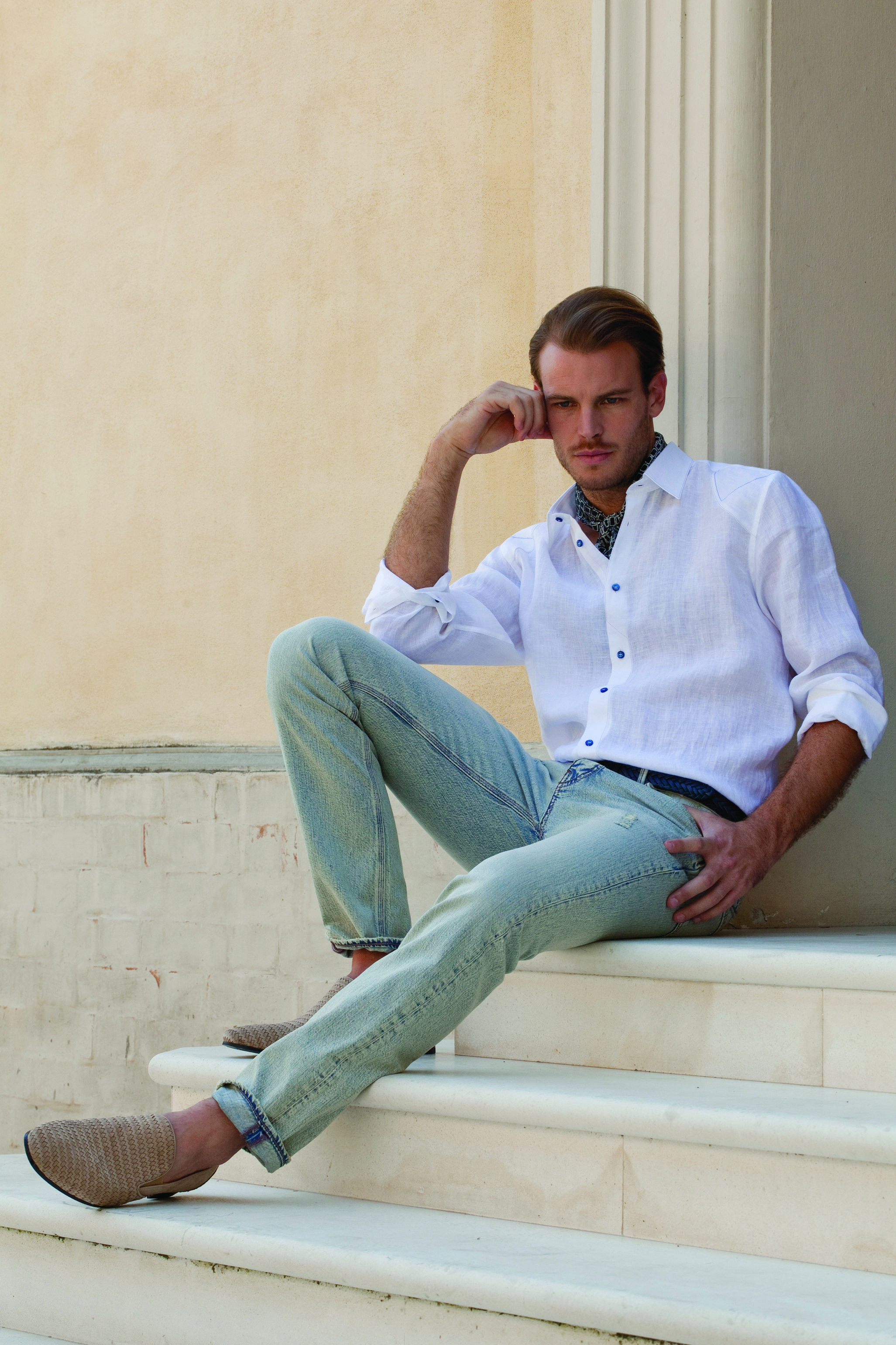 Messori Spring Summer 2013 (shot at Casa Messori in Castelvetro, Italy) www.messori.it  #spring #summer #menswear