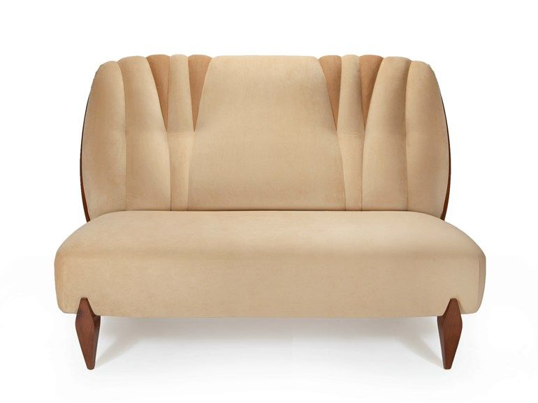 2 seater velvet sofa Na pali Collection by INSIDHERLAND | design Joana Santos Barbosa