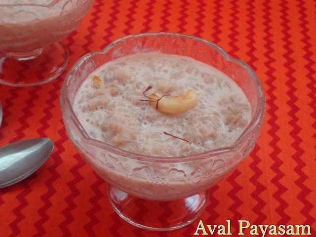 Red Aval Payasam / Poha Kheer / Matta Rice Flakes Payasam